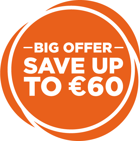 Save up to €60